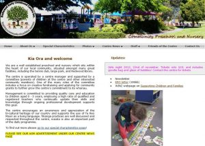 screencapture of RECC website