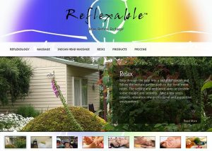 screencapture of Reflexable website