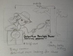 Penelope Powers sketch 2