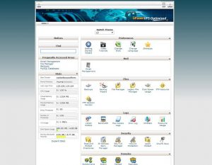 cpanel page