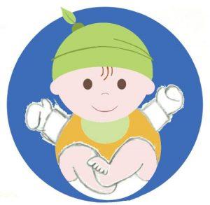 draft of baby logo