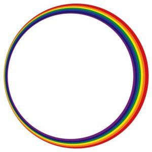 creating a rainbow graphic