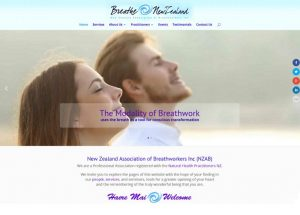 NZ Association of Breathworkers website screenshot