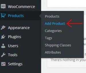Woocommerce new product