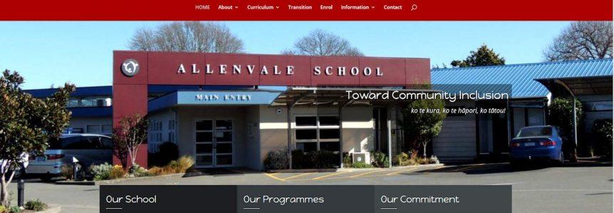 Allenvale webdesign project