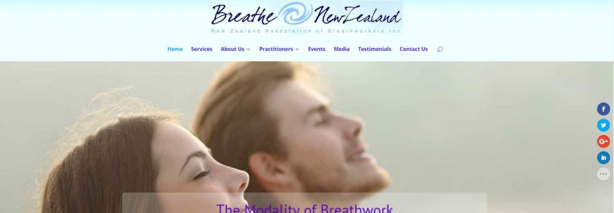 Breathworkers web design project