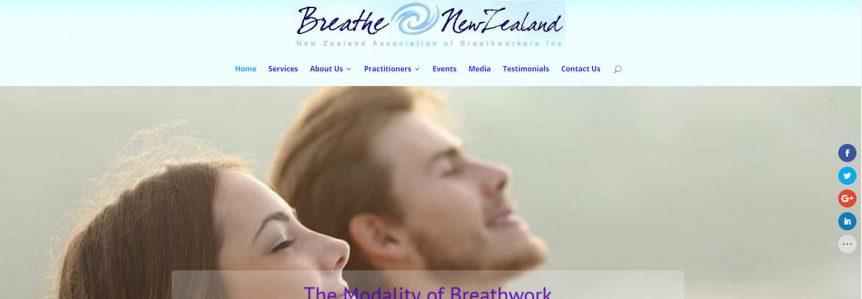 Breathworkers web design project