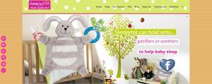 Sleepytot webside design capture