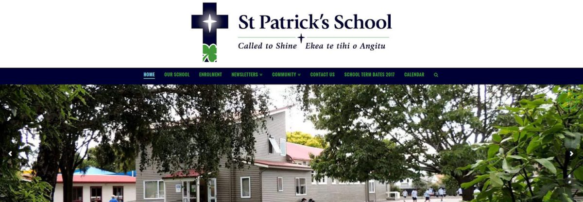 St Patricks School Web Design Project