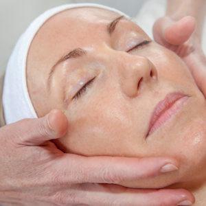 Facial treatment photo for website