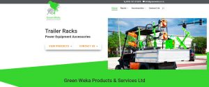 Green Weka Products & Services website