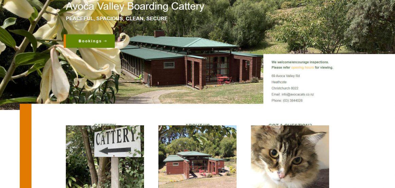Cattery website design